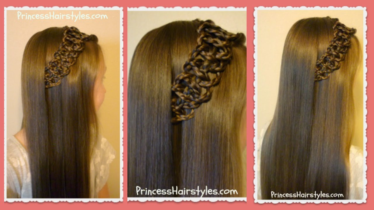 Braided 4 Strand Slide Up Accent Hairstyle Youtube