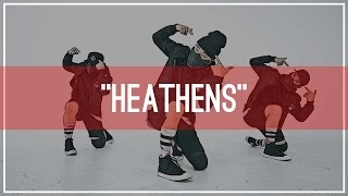 "twenty one pilots ""Heathens"" Choreography by Mike Song 