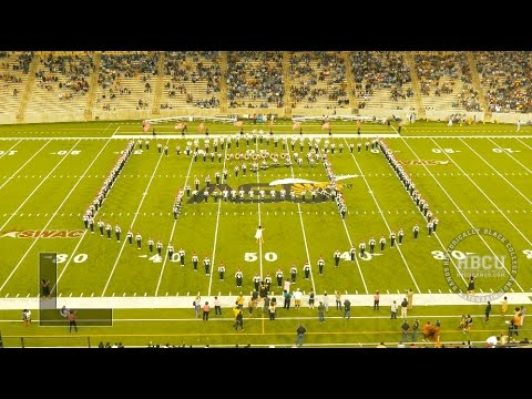Halftime - Alabama State Marching Band vs SU 2015