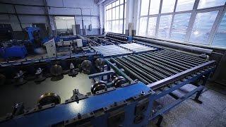 Сделано в Кузбассе HD: Автоматизированное производство противопожарных дверей(ООО «Кузбасс/Лифт», г. Кемерово. Автоматизированное производство противопожарных дверей. Производственная..., 2016-01-19T07:05:54.000Z)