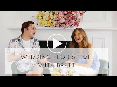 Wedding Florist 101 | With Brett Matthew John Flowers