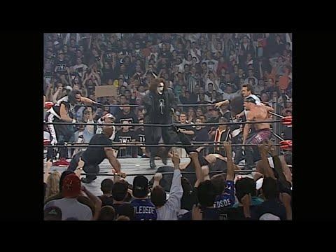 WCW Monday Nitro 29/9/1997 Curt Hennig C Vs  Giant  All Wrestling  Sting Return And The NWo