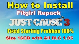 How to Install Just Cause 3 CPY Cracked Game Fitgirl Repack