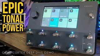 EPIC TONAL POWER   Neural DSP Quad Cortex Deep Dive Demo   TOM QUAYLE