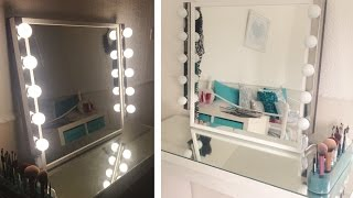 My Diy Hollywood Inspired Vanity Mirror