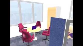 Open Plan Office Refurbishment By Kiwi Design
