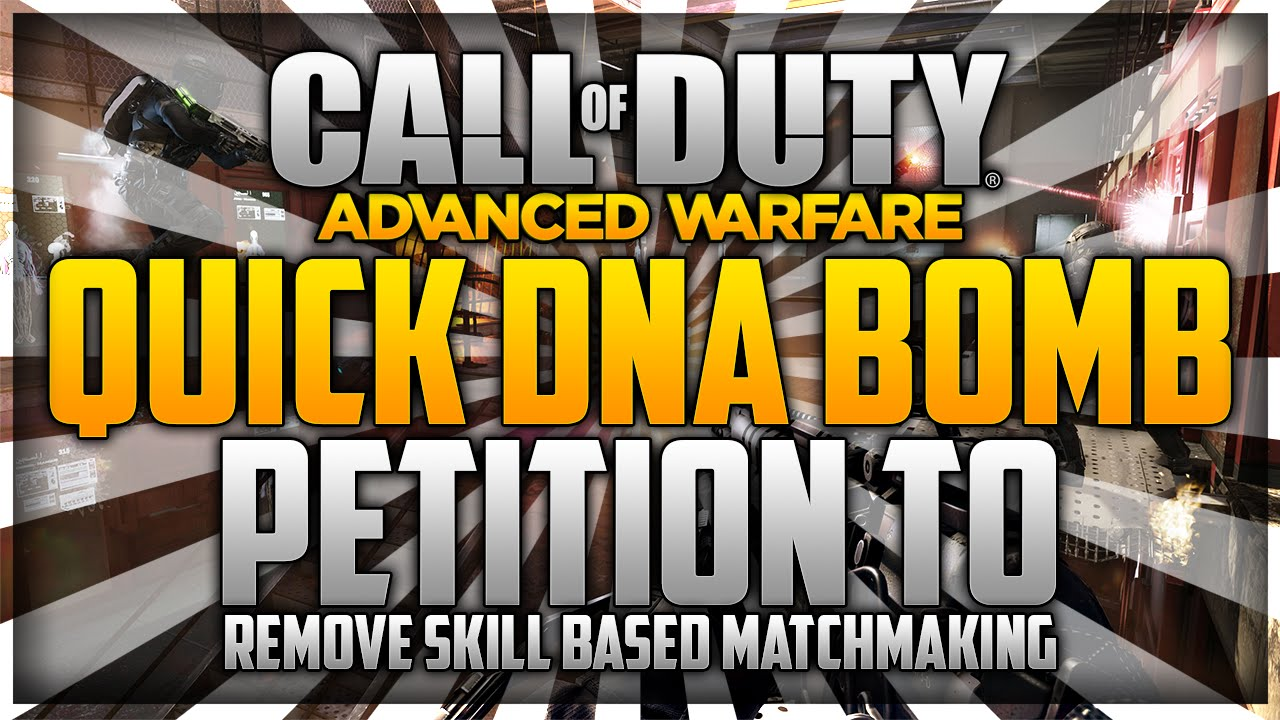 skill based matchmaking removed advanced warfare