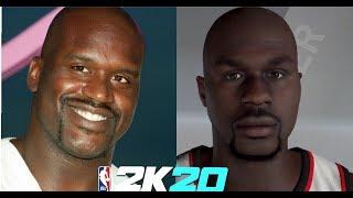 NBA-2K20, Wie Zum Erstellen von Shaquille O 'Neal' s Gesicht