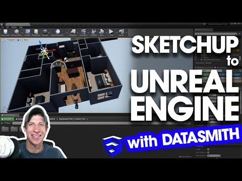 import-sketchup-files-to-unreal-engine-with-datasmith