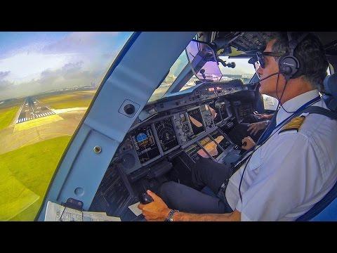 Piloting the Airbus A380 into Tokyo Narita!