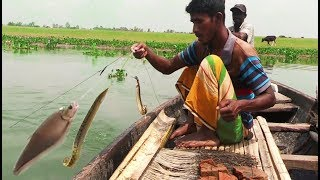 Primitive Technology Of Fishing! Amazing Fishing Catching From…