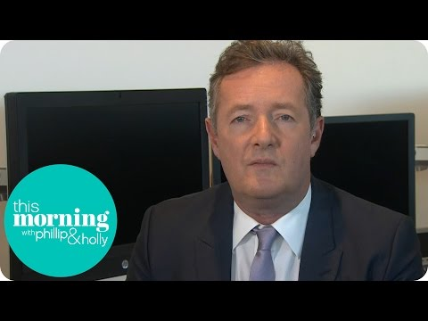 Piers Morgan Responds To Donald Trump's Sexist Comments | This Morning