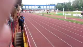 AMP 2014 Białystok finał 100m kobiet