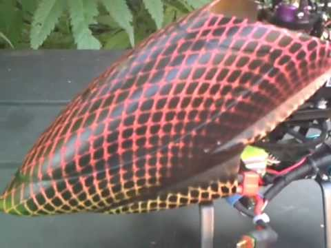 Custom Painted Helicopter Canopy & Custom Painted Helicopter Canopy - YouTube