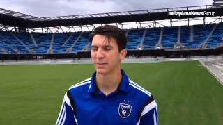 Earthquakes midfielder Shea Salinas has first visit to Avaya Stadium on Wednesday as team gets namin