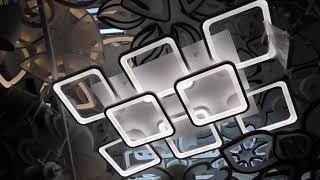 Сверхъяркая светодиодная люстра 8060/6+2WH (белая) (магазин люстр Новый свет)