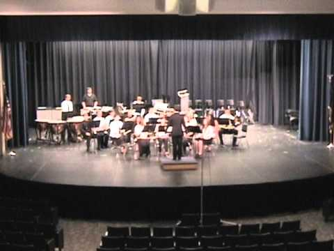 2014 KSHSAA - Council Grove High School Band