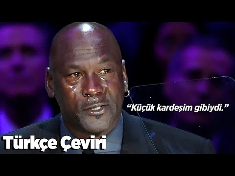 Michael Jordan'ın Kobe Bryant İçin Yaptığı Konuşma   24.2.2020