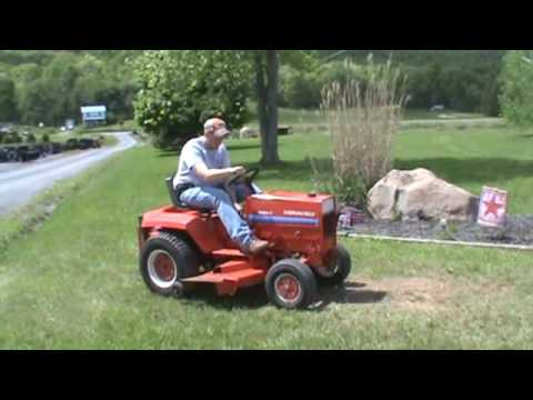 Gravely 8183 T Lawn And Garden Tractor Mower For Sale Mark