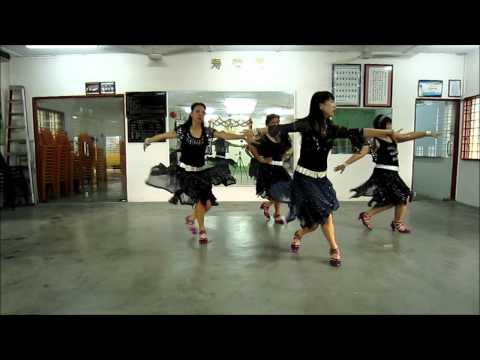 Adonde Voy line dance (10/10/2011) by Juliet Lam