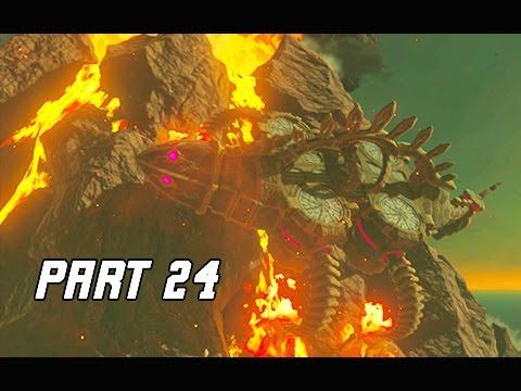 Legend of Zelda Breath of the Wild Walkthrough Part 24 - VAH RUDANIA (Let's Play)