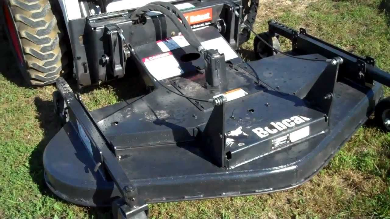 Sold Mn Bobcat 72 Quot Mower Mow Trails Clip The