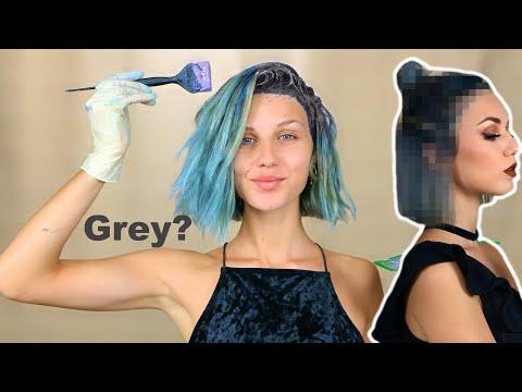 dyeing-my-blue-hair-dark-grey