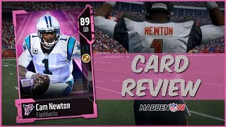 MUT 18 Card Review   Flashback Cam Newton Gameplay + Card Review