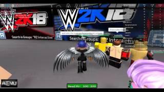 Roblox-WWE 2k17 gameplay