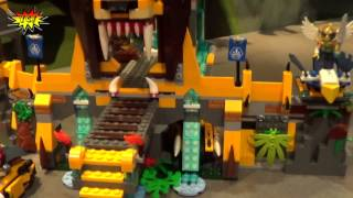LEGO Chima The Lion CHI Temple 70010 Legends of Chima 2013 Summer Set Preview NY Toy Fair