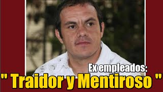Cuauhtémoc Blanco, traidor y mentiroso: Ex empleados