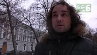 Флешмоб в поддержку Российской Национальной библиотеки (23.02.17)