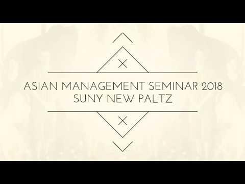 Asian Management Seminar: SUNY New Paltz