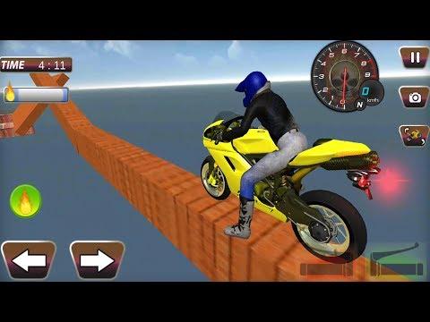 Enjoyable GT Bike Stunts 2017 New Bike Unlocked - Android GamePlay FHD