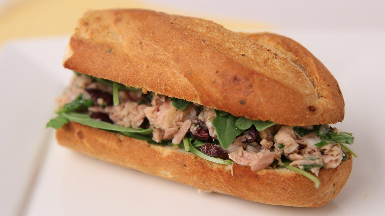 Tuna Baguette Sandwich Laura Vitale Laura In The