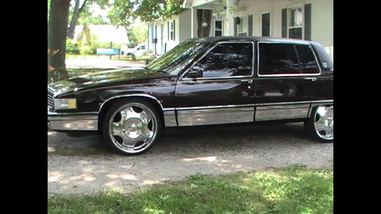 Cadillac On 22 S Sixty Special 1993 Youtube