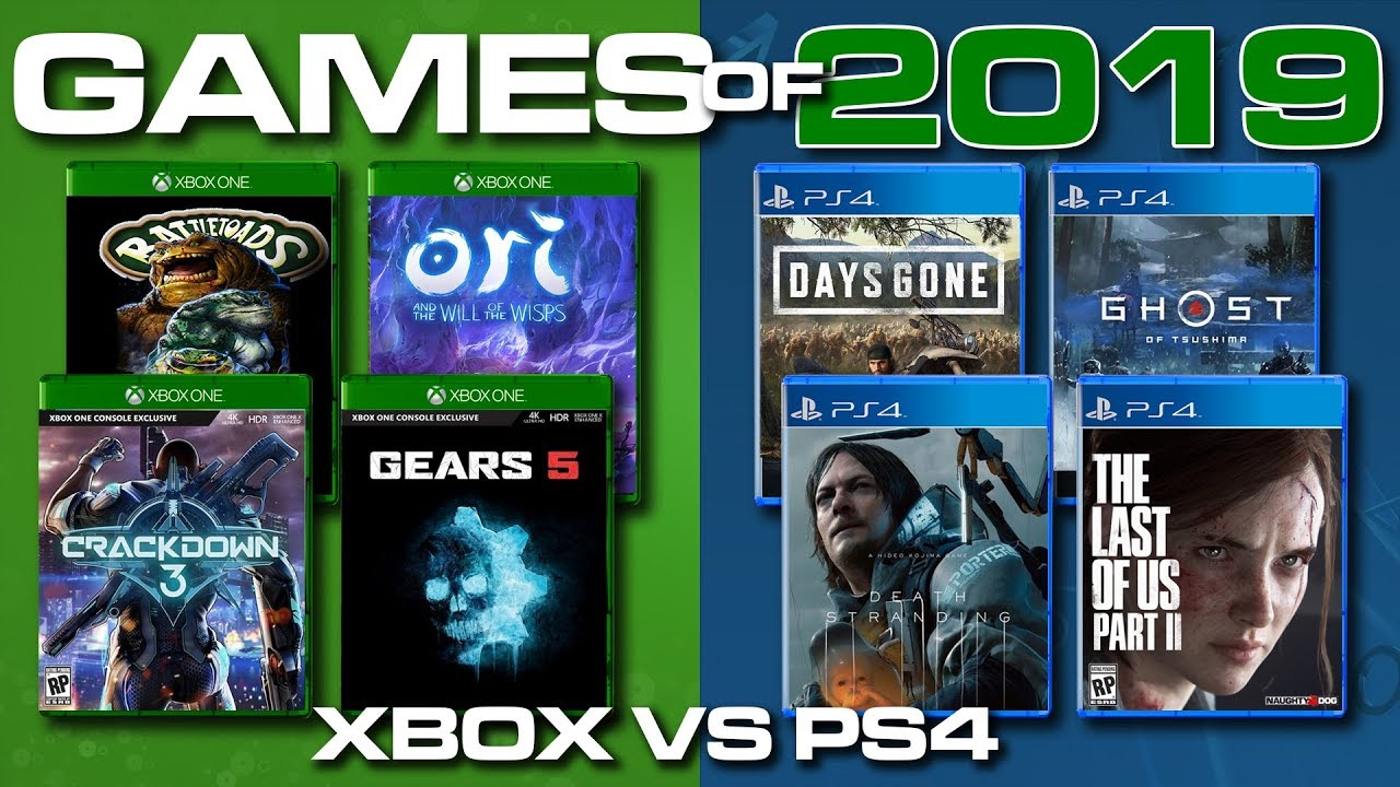 Games Of 2019 Ps4 Vs Xbox One Game Leaks Exclusives