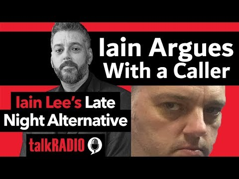 Caller Claims Iain Lee is a Twat On His Own Show!