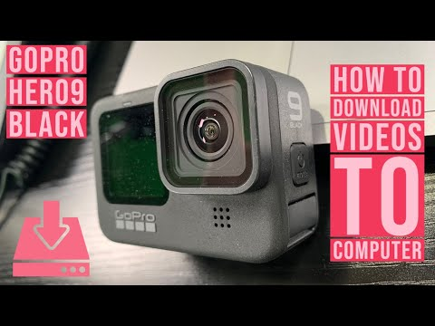 GoPro HERO 9 Black - How to Download Videos to Computer