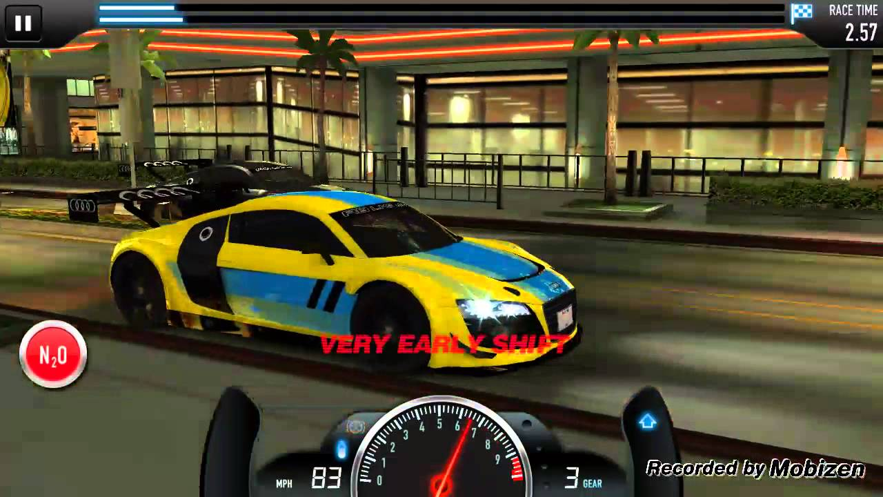 Audi r8 lms ultra csr racing 12
