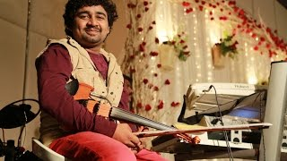 """Raree Rariram"" Abhijith P S Nair on Violin Live With His fusion Band"