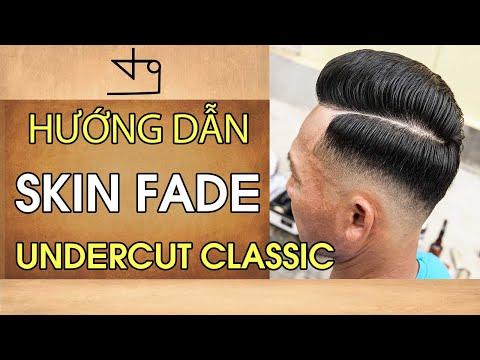 Hướng Dẫn Skin Fade Kiểu Tóc Undercut Classic Cho RAPPER TIẾN ĐẠT in TƯỜNG BARBER
