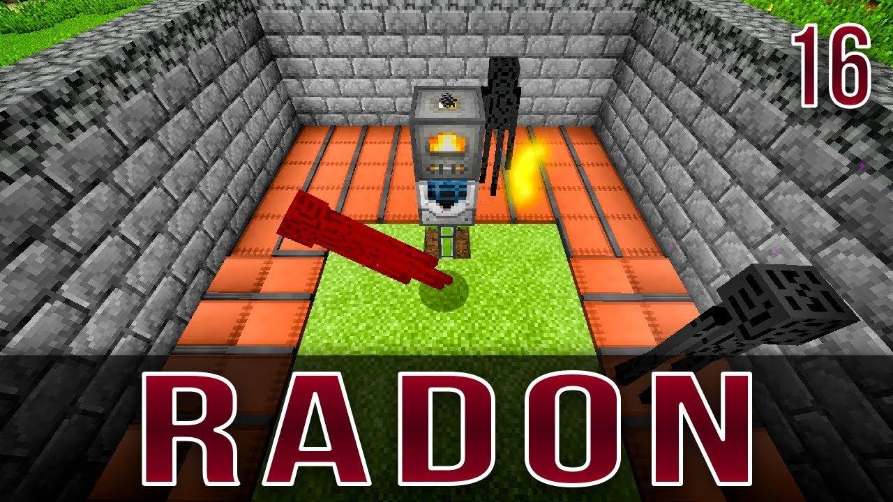 Industrial Foregoing Ender Pearl Farm   Radon   Episode 16 ...