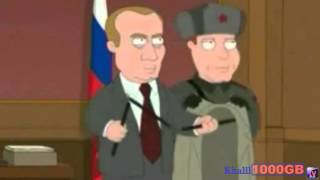 That russian waiter family guy cast