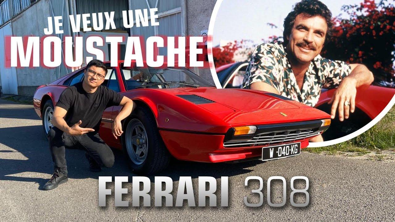 Ferrari 308 GTB ! Il me manque la moustache 👨🏻
