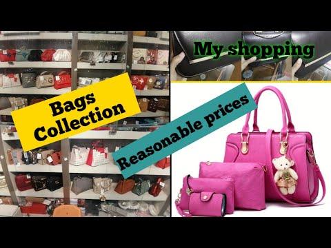 Ladies Hand Bags Design | Soulder Bags Closet Tour Women Bags Collection_New Vaulet Purse Collection