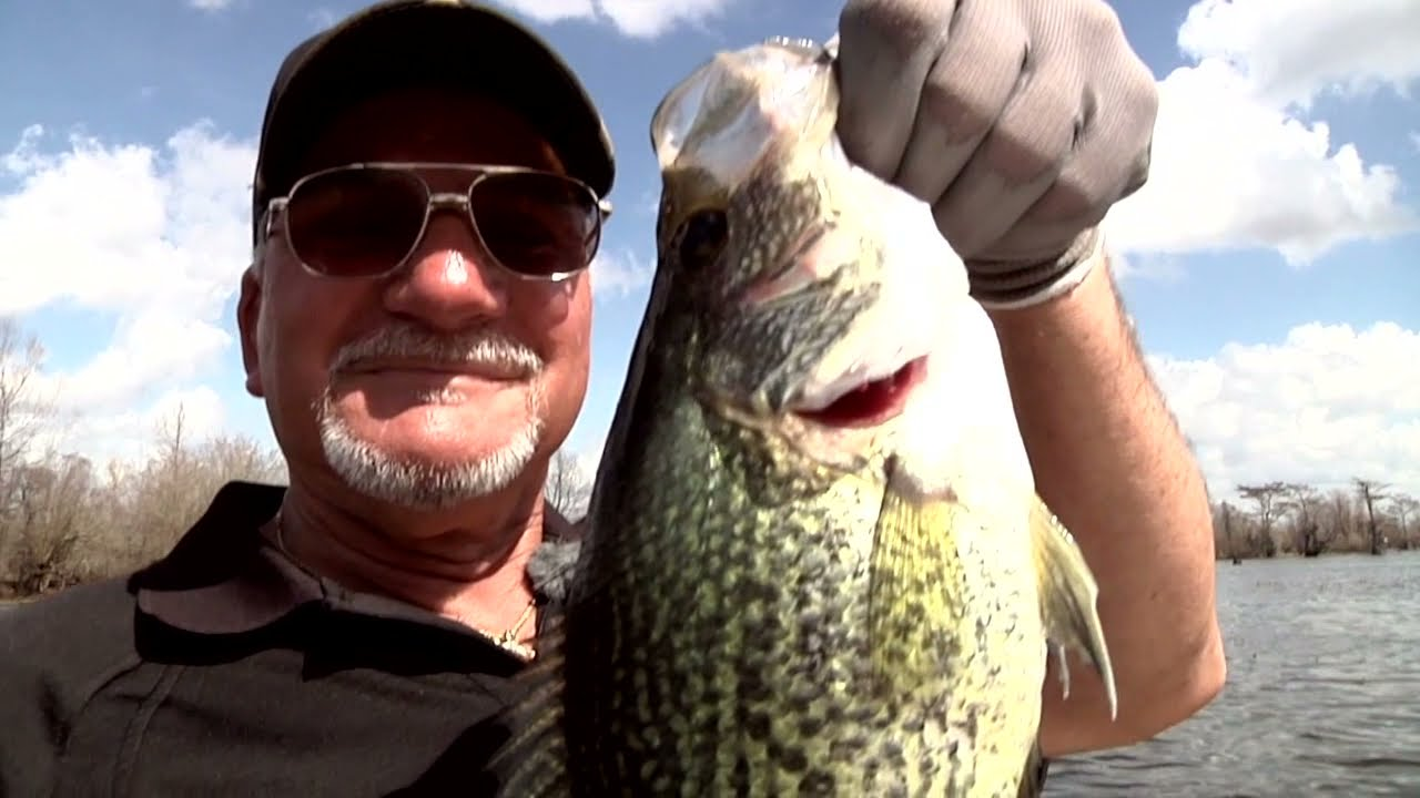 50 shades of sac a lait sportsman tv full episode for Louisiana sportsman fishing reports