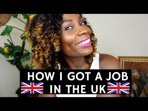 HOW I GOT A JOB IN THE UK | LIFE AFTER UNIVERSITY |  SASSY FUNKE