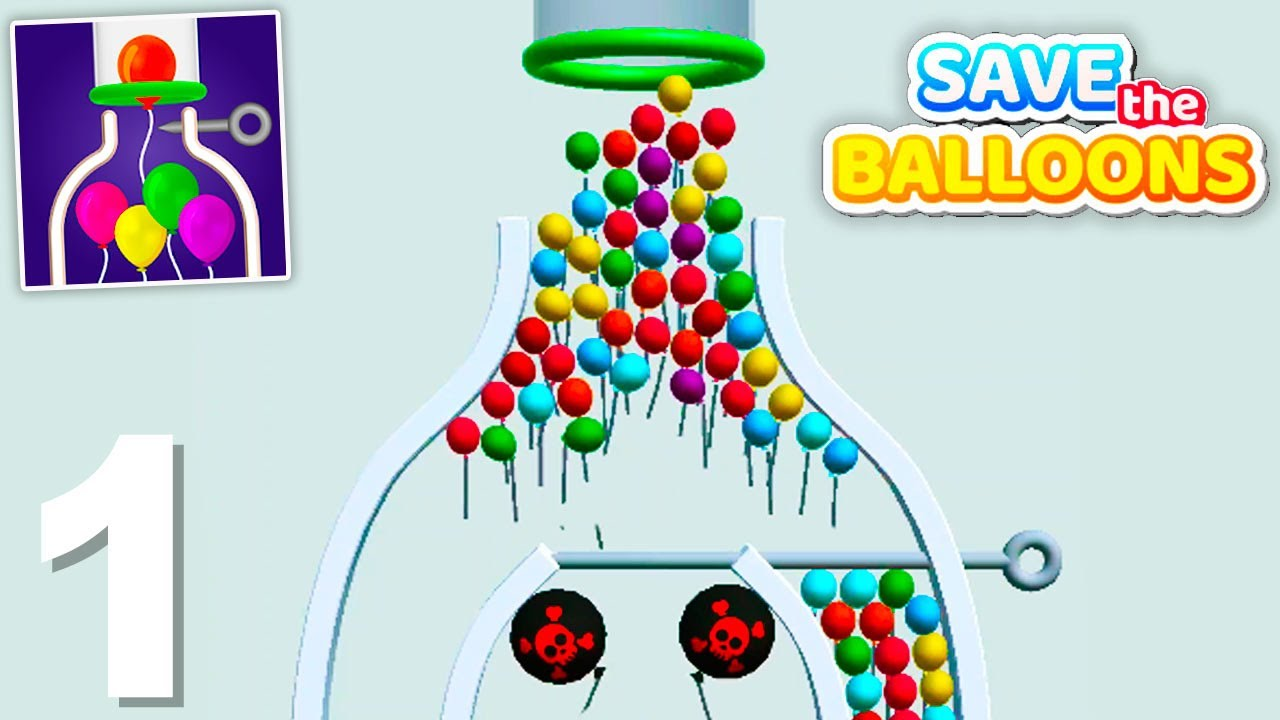 Save The Balloons - Gameplay Walkthrough 1-30 Levels (Android)