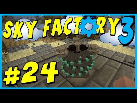 Data Play's - Sky Factory 3 - #24 - Witch Water Monstrosity!